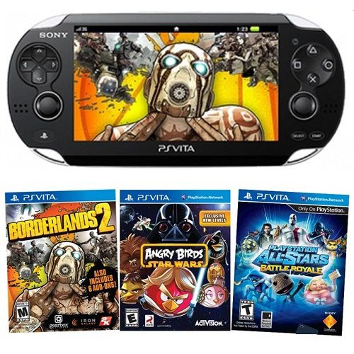 Portable gaming systems with console-like games