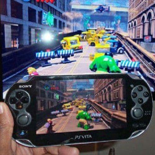 Using your portable console as a remote