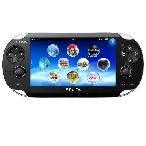 Playstation Vita portable game console
