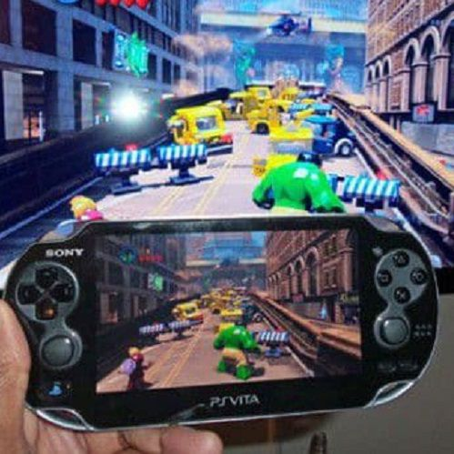 Using the Playstation Vita as a remote