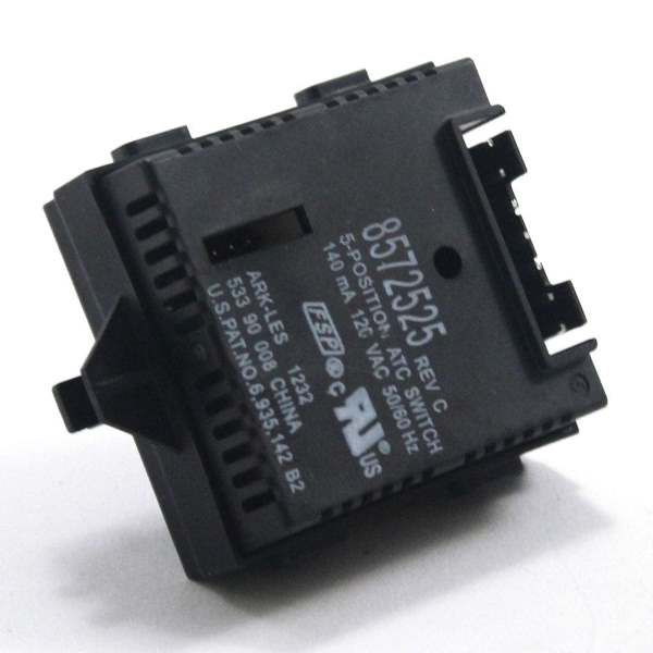 Washer temperature selector switch