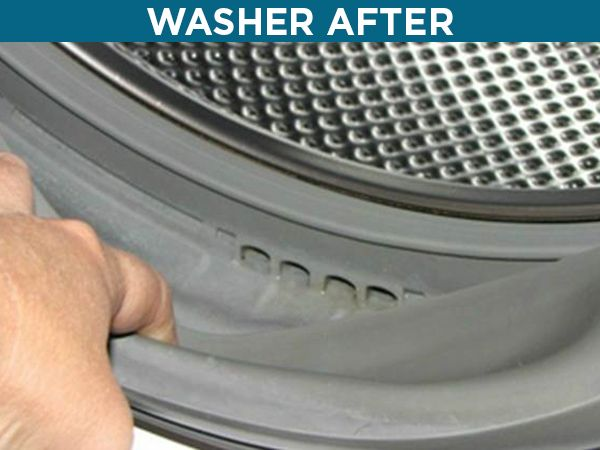 washer after