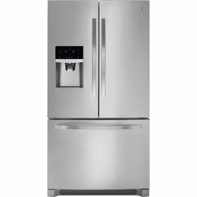Kenmore Fridge with Active Finish™ stainless steel