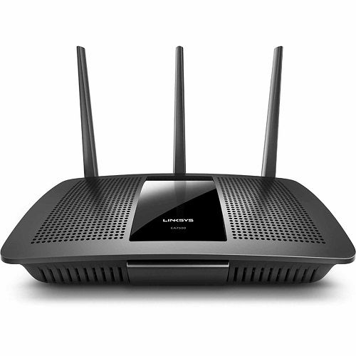 Wireless router for accessing the internet